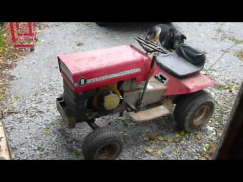 A little Redneck ingenuity: Electric start for my old Massey Ferguson 8hp tractor