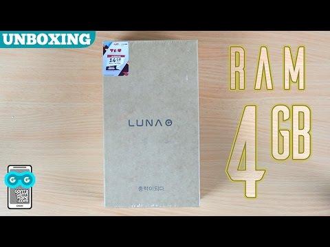 Unboxing LUNA G - Smartphone yang Merhatiin Spesifikasi Banget!