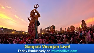 Lalbaugcha Raja Visarjan 2017 Live!   Mumbai Live