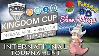 LIVE INTERNATIONAL TOURNAMENT | Kingdom Cup | Battle Park Battles | Pokemon Go PvP