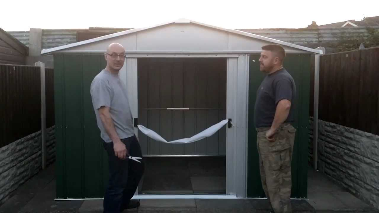 Yardmaster Shed Opening