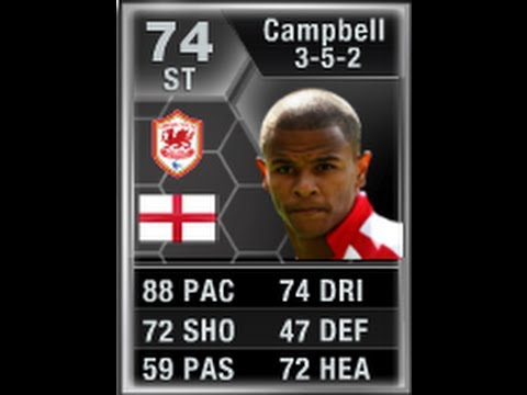 FIFA 13 IF CAMPBELL 74 Player Review & In Game Stats Ultimate Team
