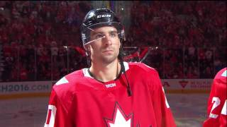 World Cup Of Hockey | Team Canada vs Team Russia | player introduction