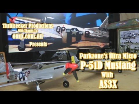 Parkzone's UM P-51 D Mustang with AS3X Un-Boxing/Review