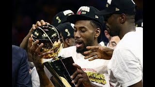 Toronto Raptors Celebrate First NBA Championship In Franchise History