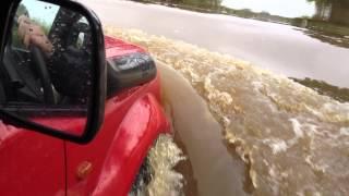 Suzuki Jimny In Deep Floods