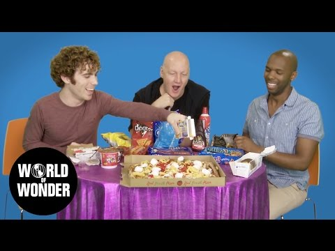 EAT IT! National Junk Food Day: James St. James & Two Gay Matts