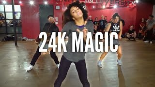 BRUNO MARS - 24K Magic  Kyle Hanagami Choreography