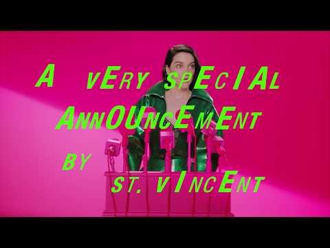 St. Vincent - A Very Special Announcement