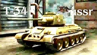 Т 34. Лучшие танки. The best tanks. Positions, tactics .Successful attack