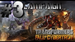 Transformers: Fall of Cybertron - Walkthrough Part 3 Defend the Ark!