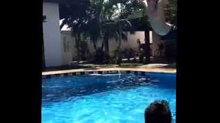 [Best pool jump on slow motion] Video