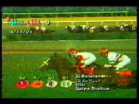 Racing Report from Hialeah Park: April 15, 2001 (Part 2)