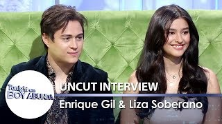 TWBA Uncut Interview: Liza Soberano and Enrique Gil