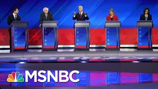 Democrats Hit Trump On Trade, Immigration, Race & More At Third 2020 debate | The 11th Hour | MSNBC