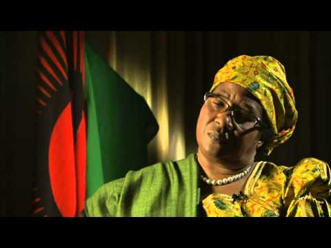 Malawi's President Joyce Banda says her country should be the only judge of her record