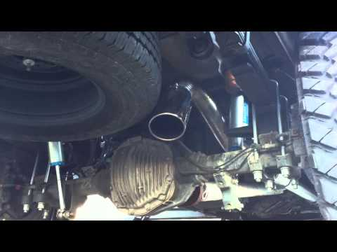 2011 Ford F250 6.7 SD H&S Mini Maxx AFE DPF Delete MBRP Turn-Down Exhaust