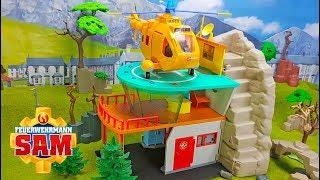 Feuerwehrmann Sam Spielzeug: Bergrettung ausgepackt & angespielt