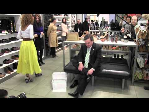 Jim Flaherty Buys Shoes Ahead Of Budget