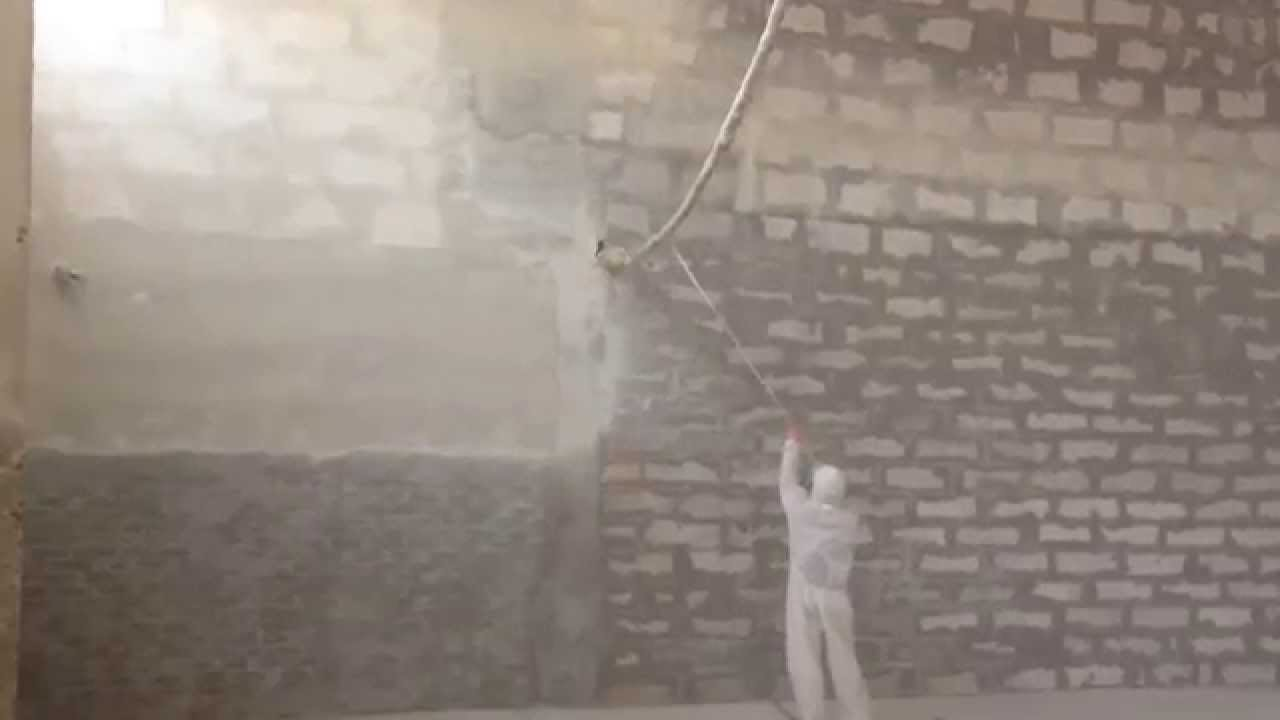 Побелка стен и потолка мелом