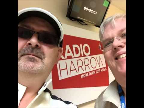 GAZ REYNOLDS ON RADIO HARROW ON  BREAKFAST WITH GARY WALKER