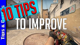 10 Tips to Improve at CS:GO
