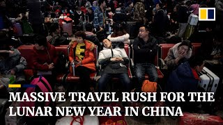 World's largest annual human migration underway in China for Lunar New Year