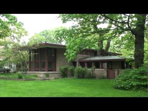Frank Lloyd Wright River Forest, Isabel Roberts House
