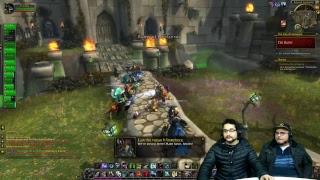 Estrenando la nueva expa de World of Warcraft