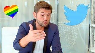 Christophe Beaugrand réagit aux messages homophobes qu'il reçoit sur les réseaux sociaux !