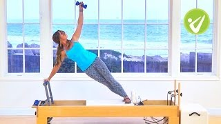 Pilates Sculpting Reformer Workout - Courtney Miller