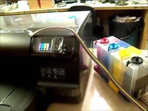 Impressora 8100 + Kit Bulk Ink Ecoplus (Instalação)