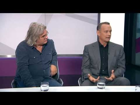 Tom Hanks & Paul Greengrass Talk About Captain Phillips (Channel 4 News, 10.10.13)