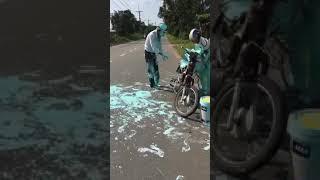Vụ tai nạn thảm khốc nạn nhân biến dạng hoàn toàn