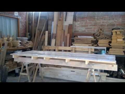 Como hacer puertas de interior en MDF y bastidor de madera 2° parte y final.