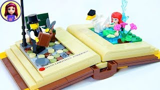 Lego Open Story Book - Hans Christian Andersen Scene Build Review Kids Toys