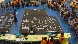 2016 Taiwan Int.  Robotrace contest 2nd prize- Ning3 by BengKiat Ng