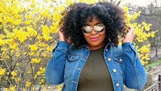 Fluffy Spring Curls on Natural Hair