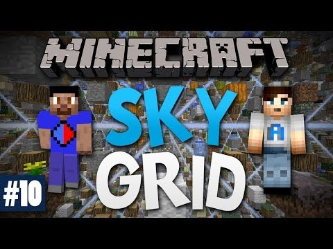 Minecraft SKY GRID #10 with Vikkstar & Ali A (Minecraft Skygrid Survival)