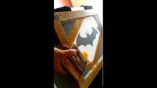 เทคนิคการสกรีนเสื้อ วิธี ทำ บล็อก สกรีน เสื้อ แบบง่าย ๆ ด้วยกระดาษ A 4 งานสกรีนทำมือ
