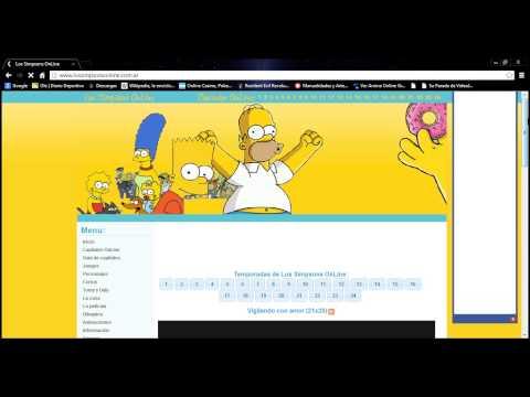 como ver capitulos de los simpsons online y gratis
