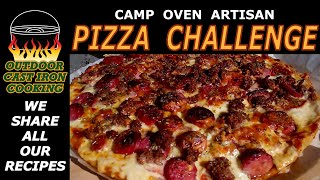 Camp Oven Artisan Pizza Challenge