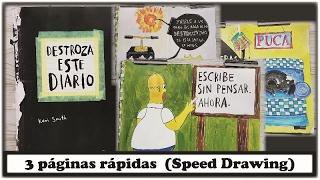 Destroza este diario (Speed Drawing)