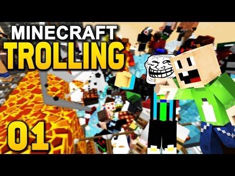 Minecraft TROLLING #1 Lachflash Milchbubi der MINECRAFT TROLLING PRO GommeHD