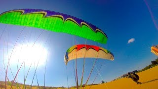 "Paragliding ""Funny Moments"" , One day with Professionals :)"