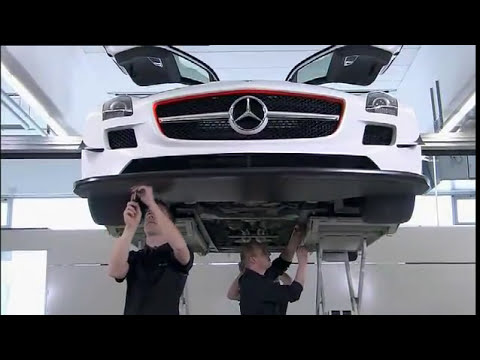 All New Mercedes SLS AMG GT3 Race Car Montage