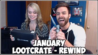 Loot Crate Opening January 2015 - REWIND! With Shady Lady!