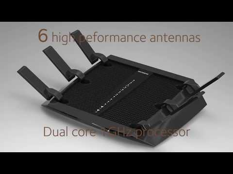 NETGEAR Nighthawk X6 AC3200 R8000 Tri Band Wifi Gaming Router Review 2017 TopReviews