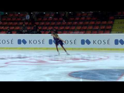 2015 ISU Jr. Grand Prix - Ladies Free Skate Maria SOTSKOVA RUS