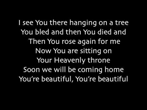 Phil Wickham - You're Beautiful (lyrics) video